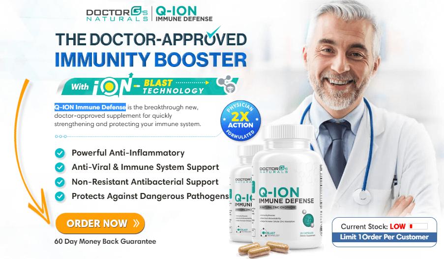 Q-ion Immune Defense Supplement